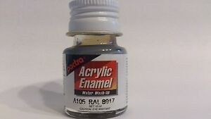* Pactra Paint A105 Panzer Brown Acrylic Enamel Water WashUp 10ml Bottle