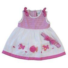 Robes pour fille de 0 à 24 mois en 100% coton