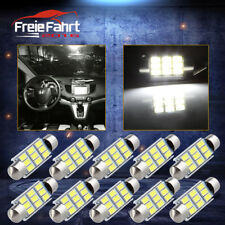 10x C10W LED Canbus 42mm Sofitte Innenraum Lampe Leuchte Birne KFZ Auto Weiß 12V
