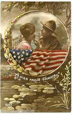 GUERRE. WAR. PATRIOTIQUE. PATRIOTIC. SAMMIES. DOUGHBOY. SOLDAT AMERICAIN