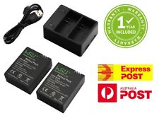 HSU Hero 3 Battery Charger USB Kit Set GoPro Hero3 Go Pro 1280mAh Batteries