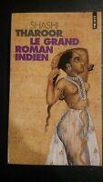 Le Grand Roman INDIEN-Shashi TAROOR-Livre -