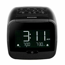 TIVDIO Digital Alarm Clock Radio LCD Display Bluetooth MP3 Player Sleep Timer