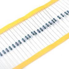 Lots 100pcs 1/4w Watt 10K ohm 10Kohm Metal Film Resistor 0.25W Tolerance ±1%