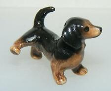 Klima Miniature Porcelain Animal Figure Mini Dachshund Dog Peeing X870