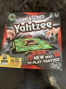 World Series of Yahtzee - Hasbro Gaming - Board Game