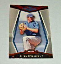 2011 Tristar LA Dodgers Allen Webster Bronze Foil #'d Rookie Card