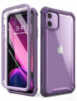 i-Blason For iPhone 11, Dual Layer Clear Bumper Case Cover w/ Screen 6.1 inch