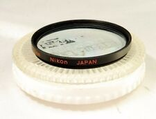 Nikon B2 52mm lens filter genuine made in Japan