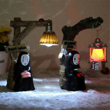 New Anime No Face Man Night Light Miyazaki Hayao Spirited Away LED Lamp Xmas