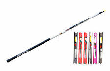 4 Meter pre Elasticated Carp Telepole/Whip with 6 syntra carp fishing pole rigs