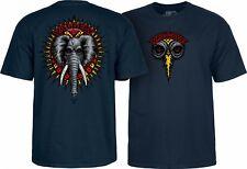 Powell Peralta Mike Vallely Elephant Skateboard Shirt Navy Xxl