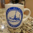 U.S.S. Olympia Admiral Dewey's Flagship Coffee Mug Cup 12oz.