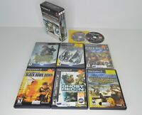 Lot of 11 PS2 War Games Medal of Honor Call of Duty Splinter Cell Metal Gear