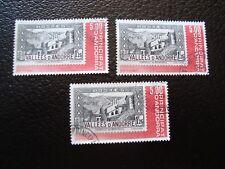 ANDORRE (francais) - timbre yvert et tellier n° 304 x3 oblitere (COL1)
