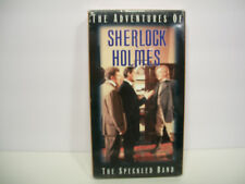 The Adventures of Sherlock Holmes - The Speckled Band (VHS, 1995)