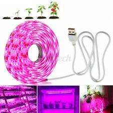 More details for 5m usb led grow light strip full spectrum strip indoor plant flower growing lamp