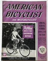 1954 American Bicyclist Bicycle Magazine Schwinn CORVETTE Bike Store PHOTOS & !!