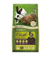 Damaged Burgess Excel Adult Rabbit Food - 10kg