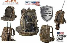 Tactical Hunting Pursuit Backpack Bow Archery Rifle Hiking Camping Outdoor Bag