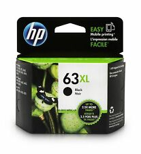 NEW Genuine HP 63XL 63 XL Black Ink Cartridge F6U64AN High Yield OEM Exp. 8-2019