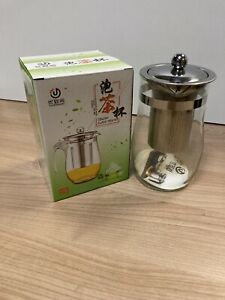 New Glass Stainless Steel Teapot 750ml