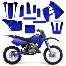 Graphic Kit Suzuki RM 125 RM 250 Dirt Bike Decal MX Motocross Deco 90-92 ICE BLU
