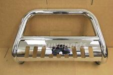 Chrome Stainless S/S BULL BAR Brush Push Bumper Grill Guard 05-13 TOYOTA TACOMA