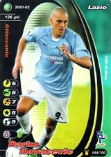 FOOTBALL CHAMPIONS 2001-02 Darko Kovacevic 044/100 Lazio FOIL