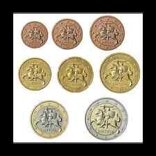 LITUANIE 8 pièces en Euro 2015 1 Ct a 2 Euro UNC - New Country