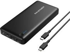 RAVPower 26800mAh PD Portable Charger USB C Power Bank Fast Recharged RP-PB058