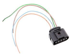 4 Pin Pigtail Plug Wiring Connector VW Jetta Golf Passat Beetle Audi 1J0 973 724