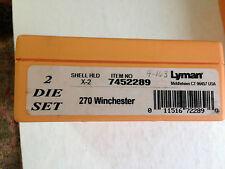 Lyman 2 Die Set 270 Winchester Part no 7452289