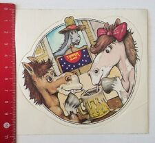 Aufkleber/Sticker: Tipper Jeans - Pferde (26031658)
