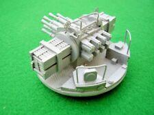 8 Barrelled Pom Pom in 1/72nd scale. Model Boat Fittings.