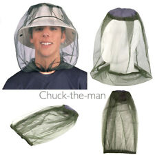 Mosquito Head Net - Bugs Insects Protection Headnet Flies Bees Wetland Safari