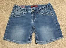 Union Bay Distressed Cut Off Denim Shorts Size 3 Inseam 5 1/2""