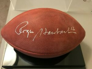 Roger Staubach Cowboys Signed Autographed NFL Official Football