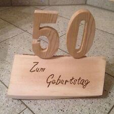 geschenk zum 18. 20. 30. 40. 50. 60. 70.80 Geburtstag Holz Geschnitzt Hochzeit