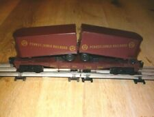 Lionel #6-16303 Pennsylvania Flat Car with PRR Trailers