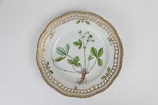 """Flora Danica Royal Copenhagen 10"""" large Plate lace 20/3553 3535 1 quality danish"""