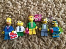 Lego Simpsons Homer Millman Smiths Hans Moleman Minifigures Series Collectible