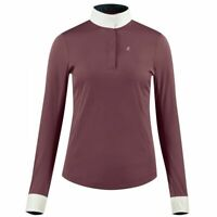 Horze Blaire Women's Long Sleeve Functional Show Shirt with UV Protection