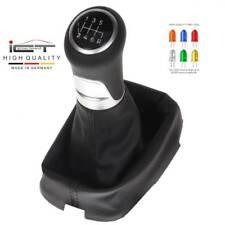 Orig. ICT pomo cambio funda palanca cuero Honda Accord CU CP CW Acura TSX LED 41