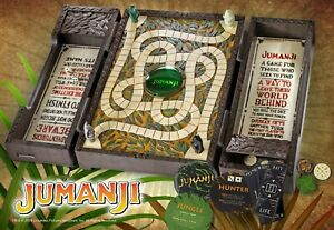 The Noble Collection Jumanji Collector Board Game Full Size Replica Family Time