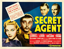 Secret Agent 1936 16mm B&W Feature Film Alfred Hitchcock WWI Spy Thriller