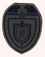 CROATIA ARMY ( HV) Military Intelligence, Hrvatska vojska, very rarre patch !