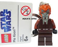 star wars lego plo koon schlüsselanhänger nagelneu