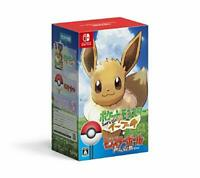 (JAPAN) Nintendo Switch video game  Pokemon Let's Go Eevee Poke ball Plu...