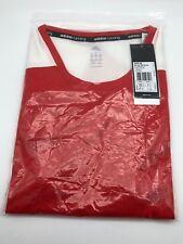 Adidas T-Shirt Rot Weiß. Gr. XL. Neuware original verpackt.